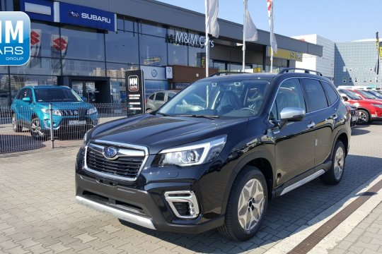 E-BOXER EXCLUSIVE CVT NAVI STORM GREY METALLIC AUTORYZOWANY DEALER SUBARU 1